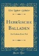 Hebräische Balladen