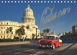 Cuba Cars (Tischkalender 2019 DIN A5 quer)