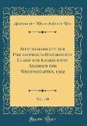 Sitzungsberichte der Philosophisch-Historischen Classe der Kaiserlichen Akademie der Wissenschaften, 1902, Vol. 140 (Classic Reprint)