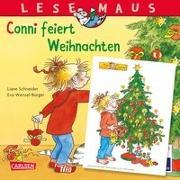 LESEMAUS 58: Conni feiert Weihnachten