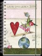 Liebe das Leben Taschenkalender 2019
