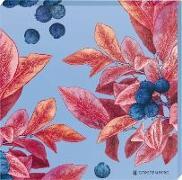 Cocktail Garten Untersetzer - Motiv Blaubeeren (2er Set)