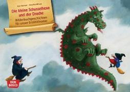 Die kleine Schusselhexe und der Drache. Kamishibai Bildkartenset