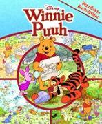 Disney Winnie Puuh - Verrückte Such-Bilder, groß - Wimmelbuch - Pappbilderbuch mit wattiertem Umschlag für kleine Leser