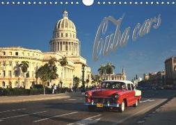 Cuba Cars (UK - Version) (Wall Calendar 2019 DIN A4 Landscape)