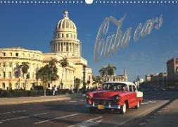 Cuba Cars (UK - Version) (Wall Calendar 2019 DIN A3 Landscape)