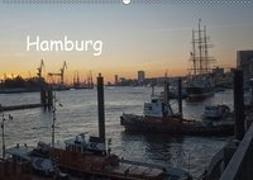 Hamburg (Wandkalender 2019 DIN A2 quer)