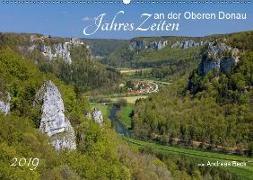 JahresZeiten an der Oberen Donau (Wandkalender 2019 DIN A2 quer)