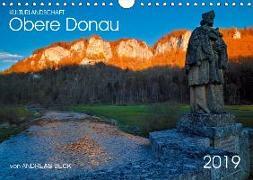 Kulturlandschaft Obere Donau (Wandkalender 2019 DIN A4 quer)