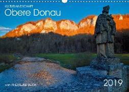 Kulturlandschaft Obere Donau (Wandkalender 2019 DIN A3 quer)