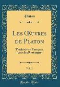 Les OEuvres de Platon, Vol. 2