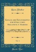Katalog der Handschriften der Königlichen Bibliothek zu Bamberg, Vol. 3