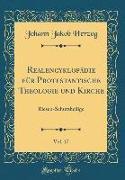 Realencyklopädie Für Protestantische Theologie Und Kirche, Vol. 17: Riesen-Schutzheilige (Classic Reprint)
