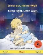 Schlaf gut, kleiner Wolf - Sleep Tight, Little Wolf (Deutsch - Englisch)