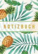 "Premium Notizbuch A5 ""Pineapplefication"""