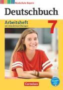 Deutschbuch - Realschule Bayern - Neubearbeitung. 7. Jahrgangsstufe - Arbeitsheft mit interaktiven Übungen auf scook.de