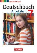 Deutschbuch Gymnasium - Bayern - Neubearbeitung. 7. Jahrgangsstufe - Arbeitsheft mit Lösungen