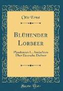 Blühender Lorbeer