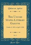 The United States Literary Gazette, Vol. 3