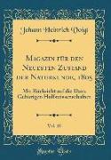 Magazin für den Neuesten Zustand der Naturkunde, 1805, Vol. 10