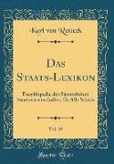 Das Staats-Lexikon, Vol. 10