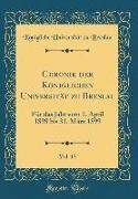 Chronik der Königlichen Universität zu Breslau, Vol. 13