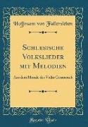 Schlesische Volkslieder mit Melodien
