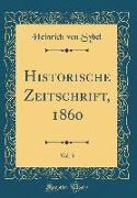 Historische Zeitschrift, 1860, Vol. 3 (Classic Reprint)
