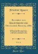 Beiträge zur Erläuterung des Deutschen Rechts, 1880, Vol. 24