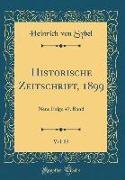 Historische Zeitschrift, 1899, Vol. 83