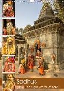 Sadhus - Die heiligen Männer von Nepal (Wandkalender 2019 DIN A3 hoch)