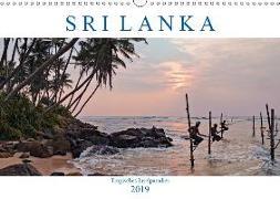 Sri Lanka, tropisches Inselparadies (Wandkalender 2019 DIN A3 quer)