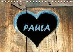 PAULA-Namenskalender (Tischkalender 2019 DIN A5 quer)