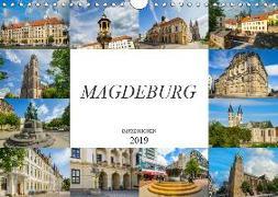 Magdeburg Impressionen (Wandkalender 2019 DIN A4 quer)