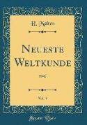 Neueste Weltkunde, Vol. 3