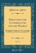 Bibliothek der Unterhaltung und des Wissens, Vol. 13