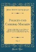 Policey-und Cameral-Magazin, Vol. 5