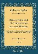 Bibliothek der Unterhaltung und des Wissens, Vol. 5