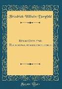 Religiöses und Religionsunterrichtliches (Classic Reprint)