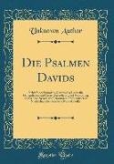 Die Psalmen Davids