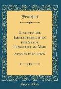 Statistische Jahresübersichten der Stadt Frankfurt am Main