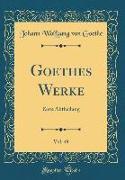 Goethes Werke, Vol. 49
