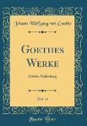 Goethes Werke, Vol. 41