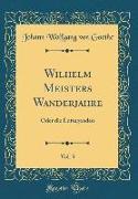 Wilhelm Meisters Wanderjahre, Vol. 3