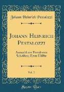 Johann Heinrich Pestalozzi, Vol. 2