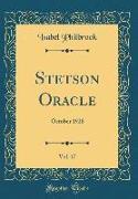 Stetson Oracle, Vol. 17