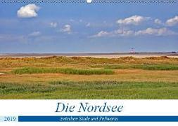 Die Nordsee zwischen Stade und Pellworm (Wandkalender 2019 DIN A2 quer)