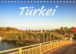 Türkei - Provinz Antalya (Tischkalender 2019 DIN A5 quer)