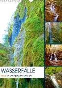Wasserfälle in Oberbayern und Tirol (Wandkalender 2019 DIN A3 hoch)