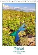 Türkei - Das Land in der Provinz Antalya (Tischkalender 2019 DIN A5 hoch)